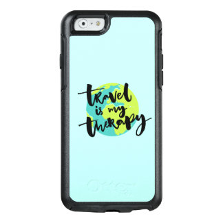 Travel is my Therapy OtterBox iPhone 6/6s Case