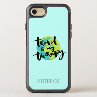 Travel is my Therapy OtterBox Symmetry iPhone 7 Case
