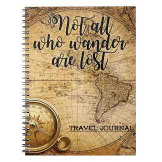 Travel Journal Note Book