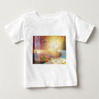 Travel Light Vibrant Gold T-shirts