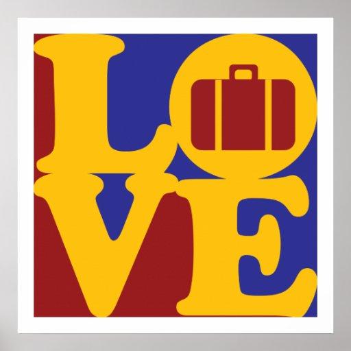 Travel Love Print