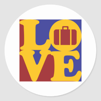 Travel Love Stickers