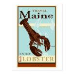 Travel Maine Postcard