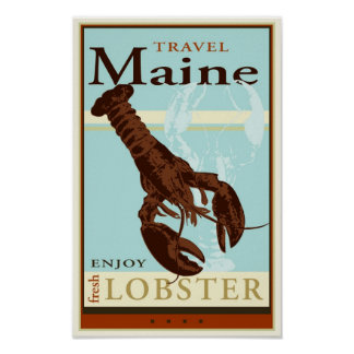 Travel Maine Posters