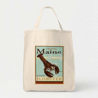 Travel Maine Tote Bag