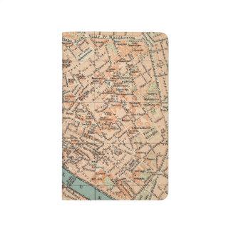 Travel Map Journal Pocket Notebook