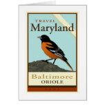 Travel Maryland Greeting Card