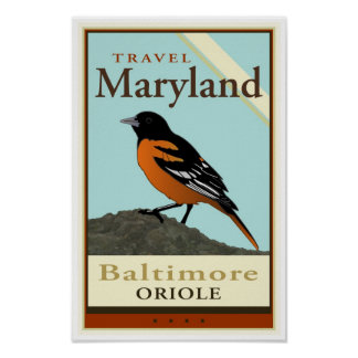 Travel Maryland Poster