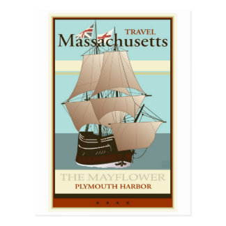 Travel Massachusetts Postcard