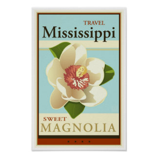 Travel Mississippi Posters
