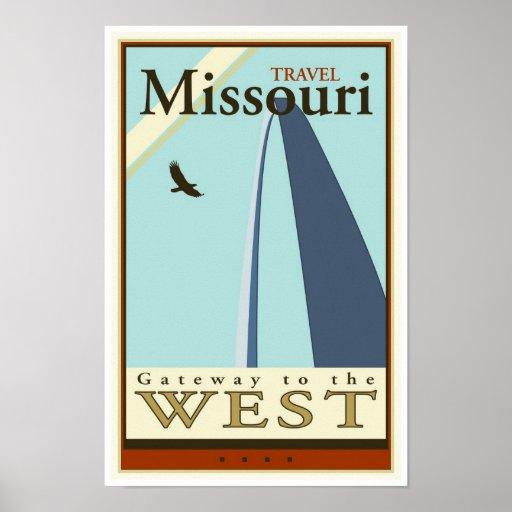 Travel Missouri Print