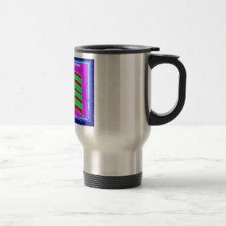 Travel Mug, African American Stainless Steel Travel Mug