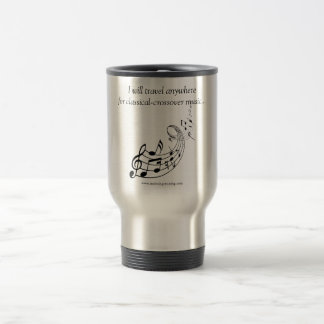 Travel Mug: Classical-Crossover Stainless Steel Travel Mug