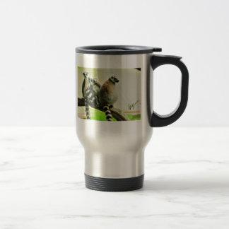 Travel Mug - Lemur-Ring Tailed
