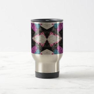 Travel Mug Marble Geometric Background G438