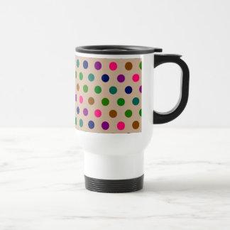 Travel Mug Polka Dots
