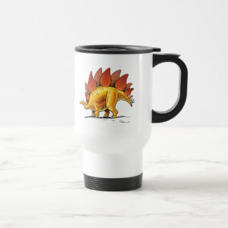 Travel Mug Stegosaurus Cartoon Dinosaur