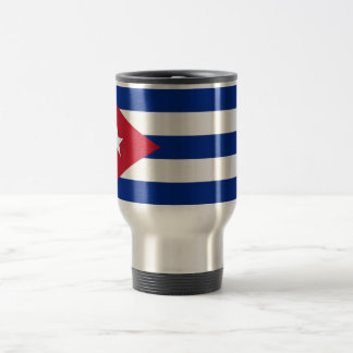 Travel Mug with Flag of Cuba