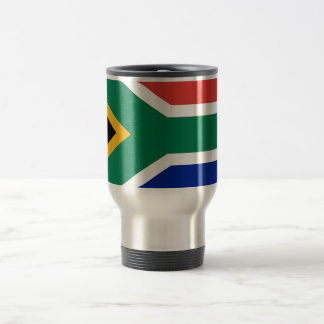 Travel Mug with Flag of South Africa
