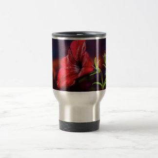 travel mug with flower design