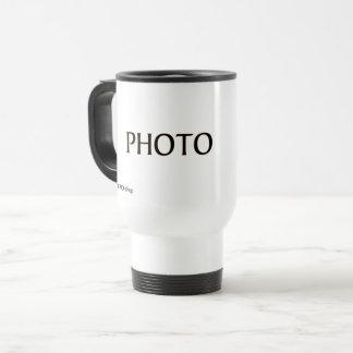 Travel Mug with Photo Camera
