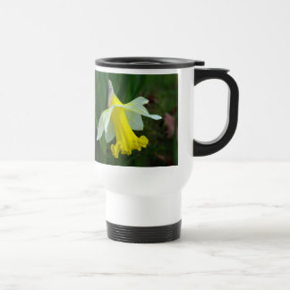 Travel Mug - Yellow Daffodil
