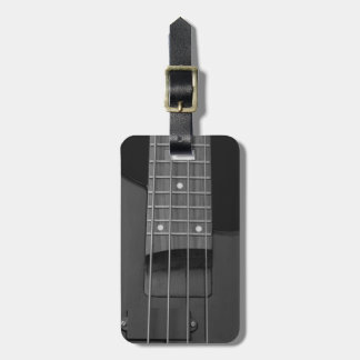 Travel Music Electric Bass Guitar Luggage Tag