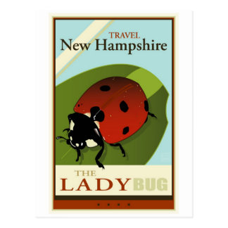 Travel New Hampshire Postcard