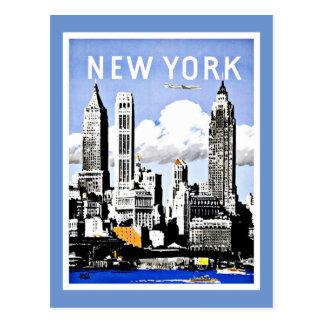 Travel New York America Vintage Postcard