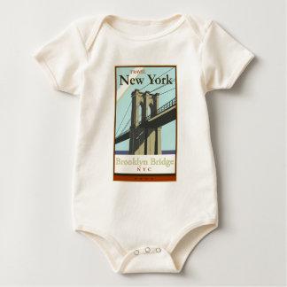 Travel New York Baby Bodysuit