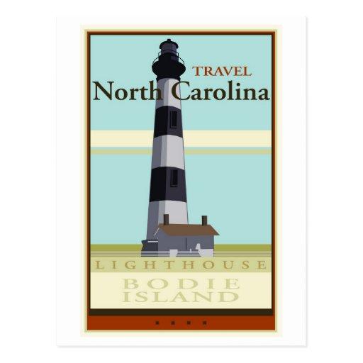 Travel North Carolina Post Cards