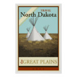 Travel North Dakota Posters