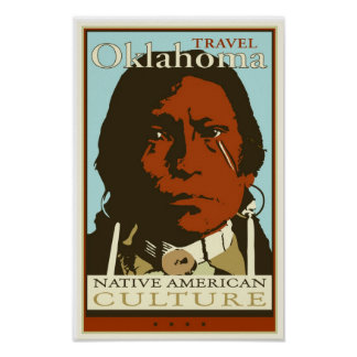 Travel Oklahoma Poster