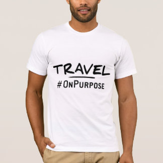 Travel #OnPurpose Men's T-shirt