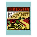 Travel Oregon Scenic Highways Post Cards