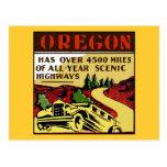 Travel Oregon Scenic Highways Postcard