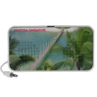 Travel photo tropical resort Sentosa Singapore Mini Speaker