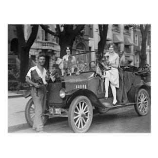 Travel Photographer, 1927 Postcard