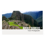 Travel Photographer Add a Large Photo Photography Business Cards