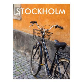 Travel Postcard - Gamla Stan Bicycle, Stockholm