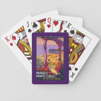 Travel Promotional Poster Playing Cards