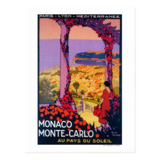 Travel Promotional Poster Postcard
