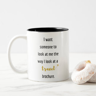 travel quote funny 325 ml  Mug