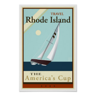 Travel Rhode Island Poster