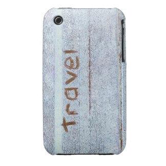 Travel rustic blue bohemian iPhone 3 Case-Mate cases