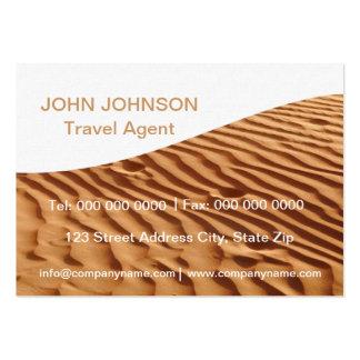 Travel Sand Dunes Calender 2013 Business Card