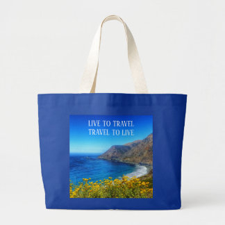 Travel Seaside 2 Large Tote Bag