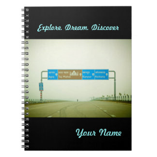 Travel Sign Notebooks