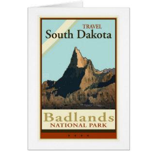 Travel South Dakota Greeting Card