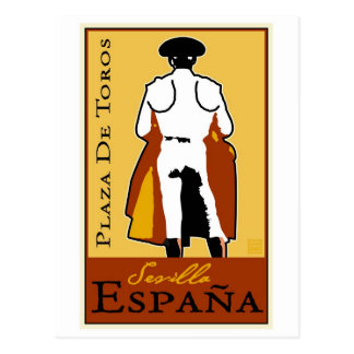Travel Spain Postcard